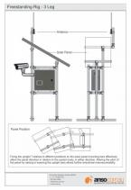 Freestanding - 3 Leg